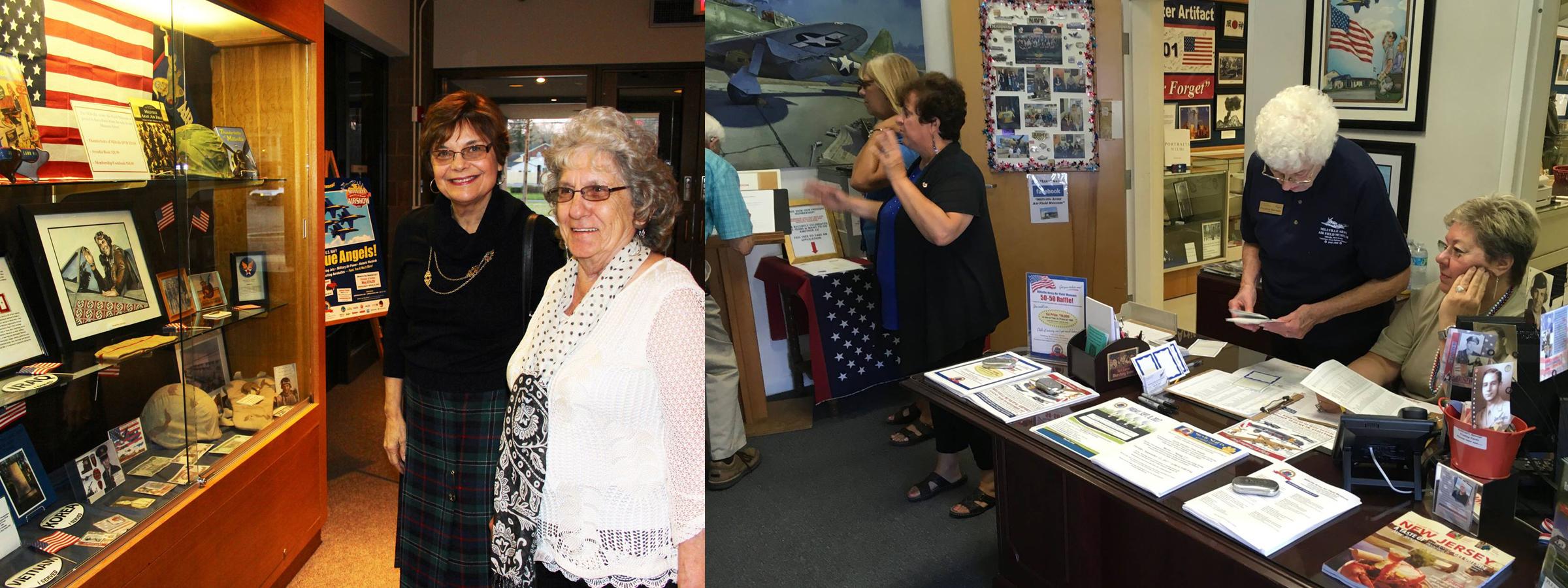 Millville Air Show Museum Staff